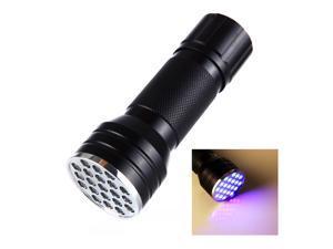 BeGrit 21 UV Ultraviolet LED Black Light Flashlight - Dog, Cat, and Pet Urine Detector