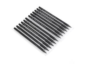 12PCS Non-wood Graphite Sticks Drawing Sketching Pencils Set, HB