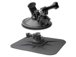 Vivitar Pro Series Car Suction Windshield & Dashboard Mounts for GoPro & All Action Cameras