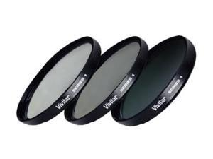 Vivitar Series 1 3-Piece Multi-Coated HD Pro Filter Set (52mm UV/CPL/ND8)