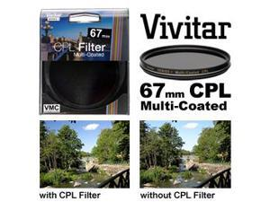 Vivitar Series 1 67mm Multi-Coated Circular Polarizer Glass Filter