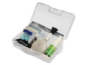 Intova Camera Care Kit (Silica Gel & Grease, Anti-Fog Cleaner, Blower Brush, Swabs, Case)