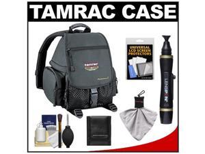 Tamrac 5242 Adventure 2 Photo Digital SLR Camera Backpack Case (Black) with Lenspen + Cleaning Accessory Kit