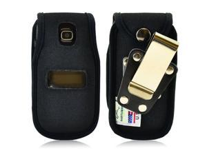 Turtleback TracFone Alcatel A392G Nylon Fitted Phone Case with Metal Belt Clip