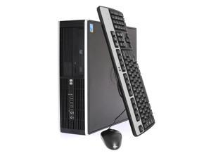 HP Compaq 6005 Elite, SFF, AMD X2 220 2.8Ghz ,8GB DDR3, 480GB SSD, DVD, Keyboard, Mouse, Windows 8.1 Pro x64