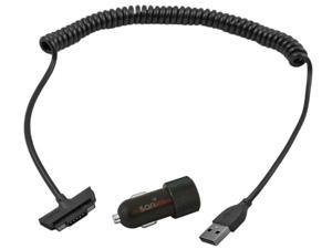 APD02G Dual USB Car Charger 2 x 2.1A XP7 & XP6 Black