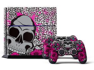 Sony PS4 PlayStation 4 Console Skin plus 2 Controller Skins - Brittany