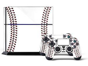 Sony PS4 PlayStation 4 Console Skin plus 2 Controller Skins - Heater