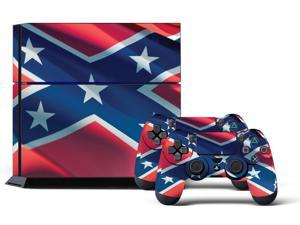 Sony PS4 PlayStation 4 Console Skin plus 2 Controller Skins -  Rebel