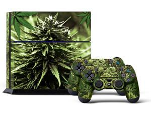 Sony PS4 PlayStation 4 Console Skin plus 2 Controller Skins -  Skunk Bud