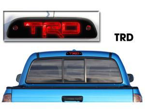 Toyota Tacoma 3rd Brake Light Matte Black Vinyl - TRD