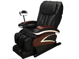 Electronic Full Body Shiatsu Massage Chair Recliner W/Heat Stretched Foot Rest
