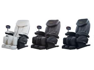 Black Electric Full Body Shiatsu Massage Chair Recliner w/Stretched Foot Rest 06