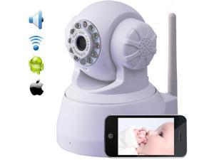 Wireless WiFi IP Security Camera Baby Monitor IR LED Webcam Night Vision Network