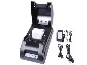 USB Mini 58mm POS Thermal Dot Receipt Bill Printer Set Roll Paper 384 line