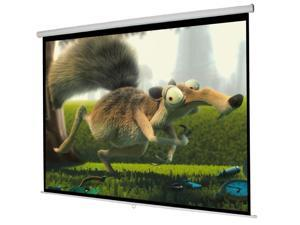 "119"" Manual Projector Projection Screen 84""X84"" Pull Down Home Movie Theater"