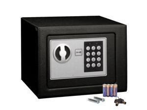 Small Black Digital Electronic Safe Box Keypad Lock Home Office Hotel Gun