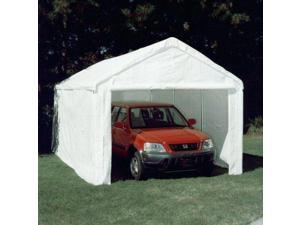 King Canopy 10 x 20 Hercules Enclosed Canopy Carport