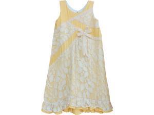 Isobella & Chloe Big Girls Marigold Arabella A-Line Sleeveless Party Dress 7