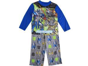 Transformers Little Boys Blue HEROES Long Sleeve Two Piece Pajama Set 4