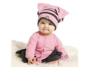 KidCuteTure Baby Girls Carnation Pink Charcoal Orchid Designer Romper 24M