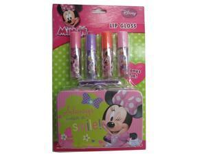 Disney Girls Minnie Lip Gloss Tin Cosmetic Accessory