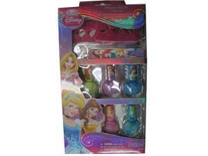 Disney Girls Multi Color Princesses Design Nail Polish Set