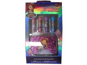 Disney Girls Sofia the First Exterior Design Lip Balm Set