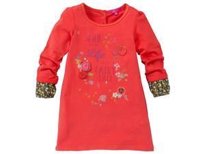 CakeWalk Baby Girls Red Kiris Long Sleeve Dress 12M