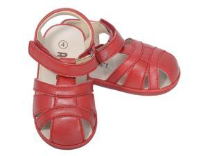 Angel Red Baby Boys 1 Open Heel Fisherman Spring Summer Sandals