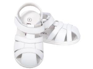Angel White Baby Boys 1 Open Heel Fisherman Spring Summer Sandals