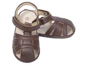 Angel Brown Baby Boys 2 Open Heel Fisherman Spring Summer Sandals
