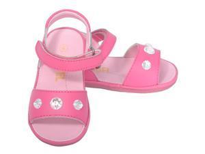 Angel Baby Girls 1 Fuchsia Jeweled Strap Spring Summer Sandals
