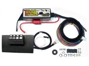 Painless Wiring 57002 8-Switch Fused Panel Fits 07-10 Wrangler (JK)