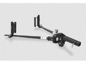 Fastway Trailer 92-00-0450 e2 45K Light Duty Trunnion Weight Distributing Hitch
