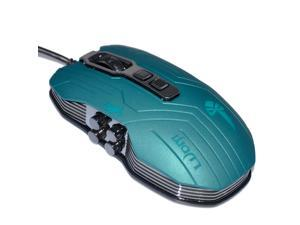 Wired Professional 9 Buttons Programmable Keys 3200 DPI Gaming Mouse with Vibration Motor, Ergonomic Desgin, Breathing Backlight ...