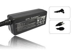 GPK Systems® 40W AC Adapter for MSI Wind U160-007us U160-412us U160dx U160dx-472us U90 X Series- X340, X400 X400 X400-204us X400-205us