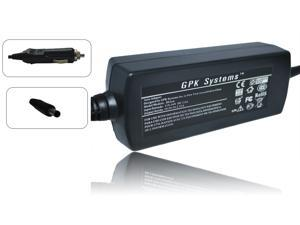 GPK Systems® 45W Car Adapter for Dell XPS 12, XPS 13, XPS 13 Mlk, Xps13-0015slv, Xps13-2001slv, Xps13-2500slv, Xps13-3000slv, Xps13-4040slv, Xps13-6928slv, XPS L221x, XPS L321x, XPS L322x, XPS 13d-138
