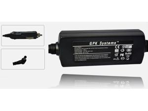 GPK Systems® 40W Car Adapter for MSI Wind U160-007us U160-412us U160dx U160dx-472us U90 X Series- X340, X400 X400 X400-204us X400-205us