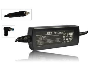 GPK Systems® Car Adapter for HP Split 13-G118CA X2 &#59; Split 13-G160BR X2 &#59; Split 13-G180LA X2 &#59; Split 13-G190LA X2 &#59; Split 13-G210DX X2 &#59; Split 13-G280LA X2 &#59; Split 13-m001TU X2 &#59; Split 13-m002TU X2 &#59;