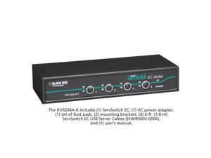 ServSwitch EC for PS/2 and USB Servers and PS/2 or USB Consoles Kit, 4-Port