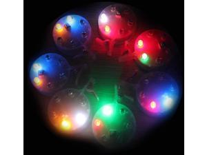 Colorful Shinning 6 Led Light UFO for Kite