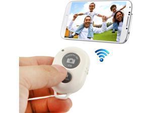 Bluetooth 3.0 Remote Shutter compatible for iPhone 5 & 5C & 5S / iPad 3 / iPad 2 / iPad mini / iPad mini with Retina Display / Samsung Galaxy S3 / S4 / Note 3 / Moto X / Nexus 4(White)