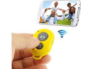 Bluetooth 3.0 Remote Shutter compatible for iPhone 5 & 5C & 5S / iPad 3 / iPad 2 / iPad mini / iPad mini with Retina Display / Samsung Galaxy S3 / S4 / Note 3 / Moto X / Nexus 4(Yellow)