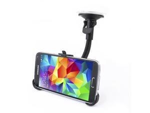 Car Holder with Suction Cup for Samsung Galaxy S5 G900 - Black