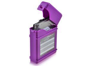3.5-Inch Hard Protective Case - Purple