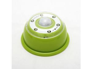 LED Light Puck For Car And Undercabinet Use - Green