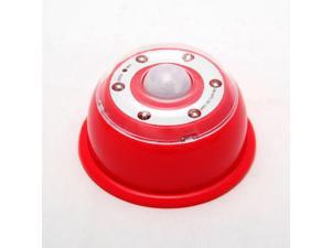 LED Light Puck For Car And Undercabinet Use - Red