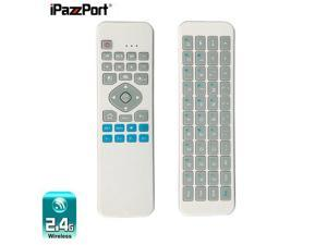 iPazzPort KP-810-30 6 Axial Gyro Sensor Wireless Keyboard with Air Mouse IR Romote