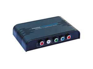 NEW LKV356 720P/1080P 5RCA Component RGB Audio Video YPbPr To HDMI Converter Adapter Scaler For PSP XBOX HDTV Lenkeng